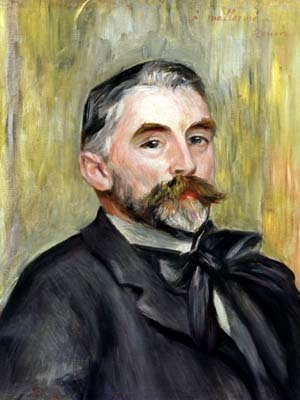 Portrait of Stephane Mallarme