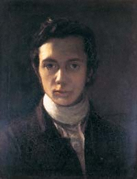 William Hazlitt self portrait (1802)